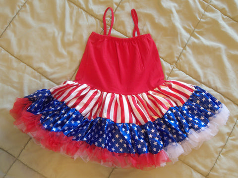 Red, White, & Blue Patriotic Dress