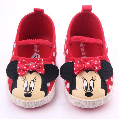Infant Red Mouse Shoes