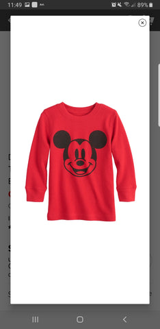 Mickey Thermal Shirt