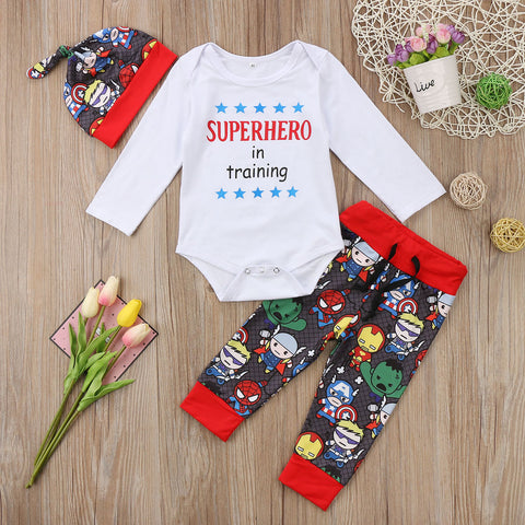 Superhero Pants Set