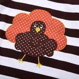 Tom Turkey Striped Dress