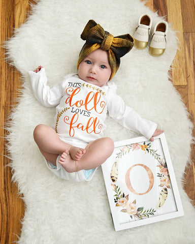 This Doll Loves Fall Onesie