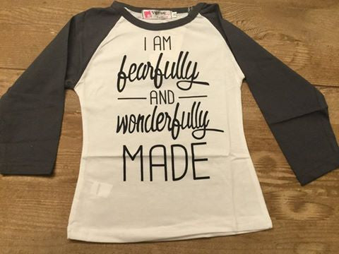 """I Am Fearfully and Wonderfully Made"" Shirt"