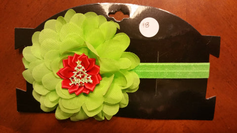 Christmas Headband - Several styles and Colors