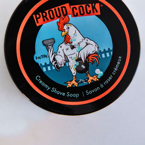 Proud Cock Creamy Shave Soap