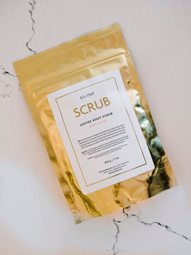 Coffee Body Scrub - Sweet Orange