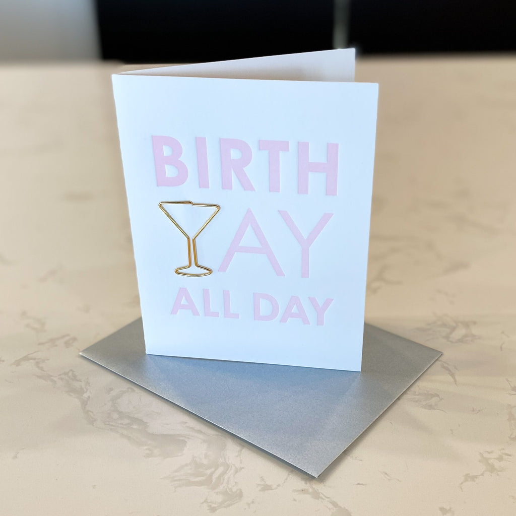 Birthday All Day - Card