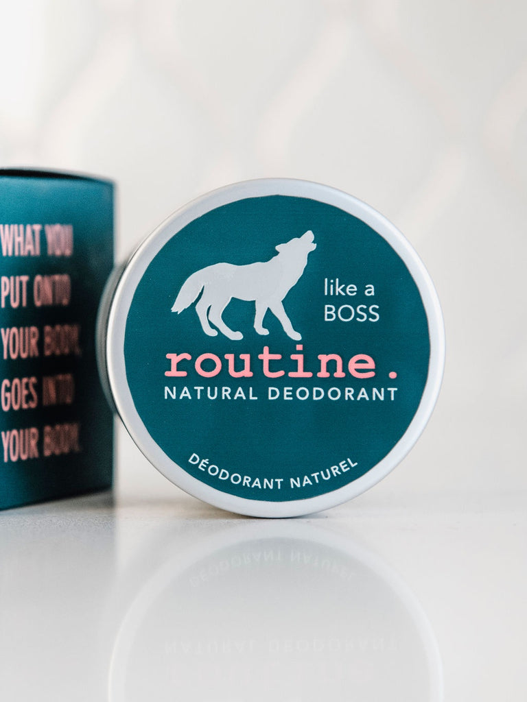 Routine's Natural Deodorant - Like A Boss