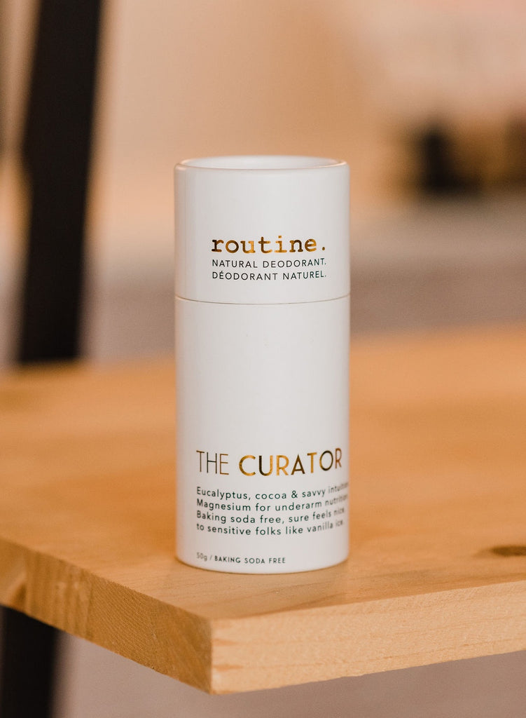 The Curator Natural Deodorant - Stick