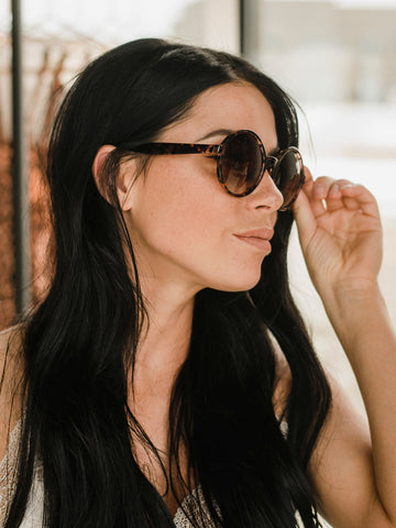 Catching Rays Sunglasses - Black & Tortoise