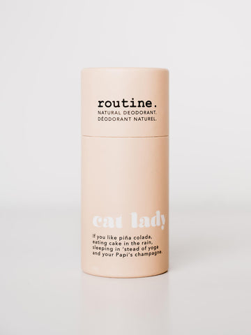 Routine Natural Deodorant Stick - Cat Lady