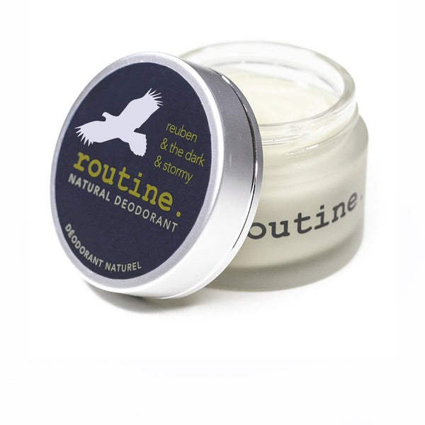 Routine Cream Natural Deodorant - Reuben and The Dark & Stormy