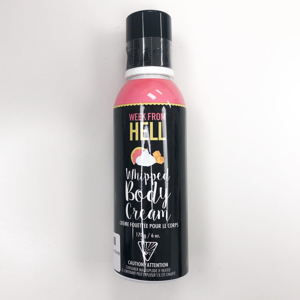 Week From Hell - Whipped Body Cream