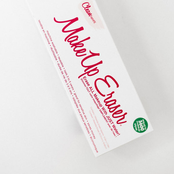 Makeup Eraser Reusable Wipes - Clean White