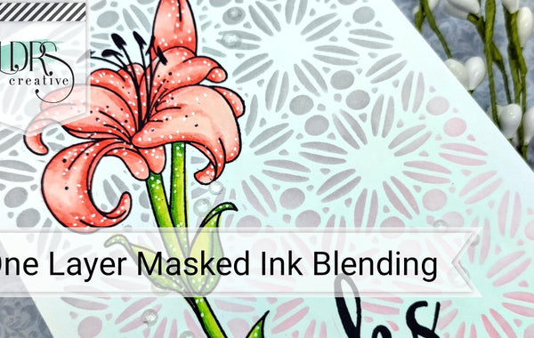 One Layer Masked Ink Blending
