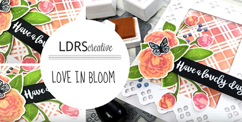 Love In Bloom card