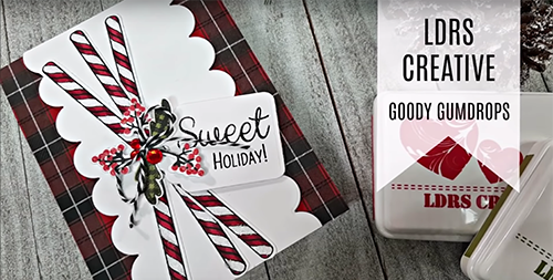Goody Gumdrops Christmas Candy Card
