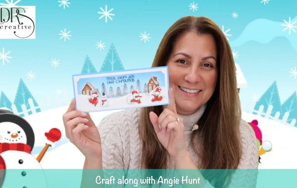 Craft Along with Angie Hunt - Snowball Fight