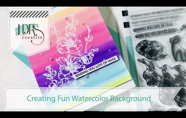 Creating Fun Watercolor Backgrounds