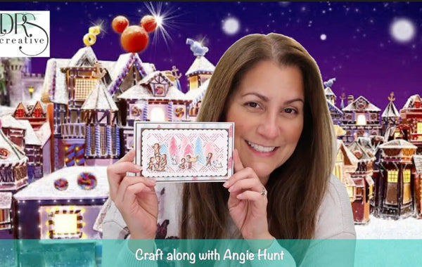 Craft Along with Angie Hunt - Christmas Mini Collection Reveal