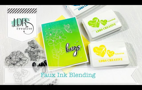 Faux Ink Blending