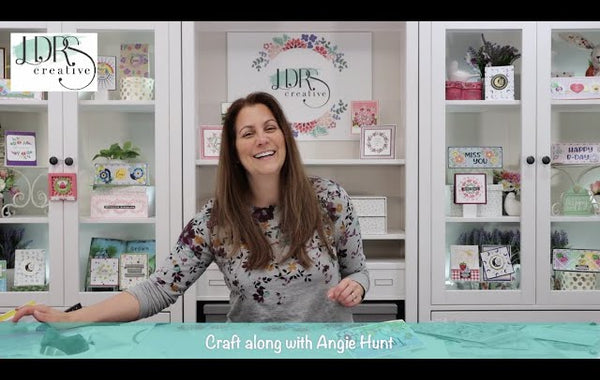 Craft Along with Angie Hunt - Pretty Playful Easter Card