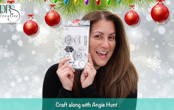 Craft Along with Angie Hunt - Christmas Gift Tags!