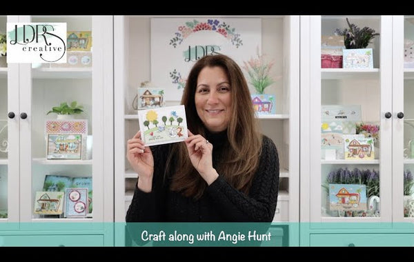 Craft Along with Angie Hunt - Friends Like You Scene Card