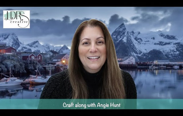 Craft Along with Angie Hunt - NEW February Collection Sneak Peek