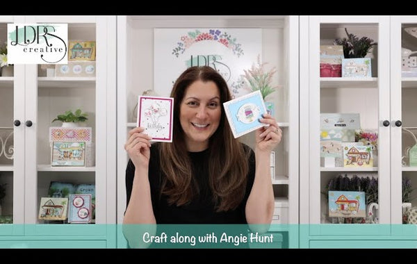 Craft Along with Angie Hunt - Sweet Birthday Wishes Exclusive Craft Kit