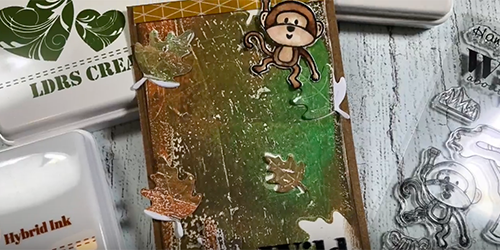 Monkey Card w/Hybrid Inks