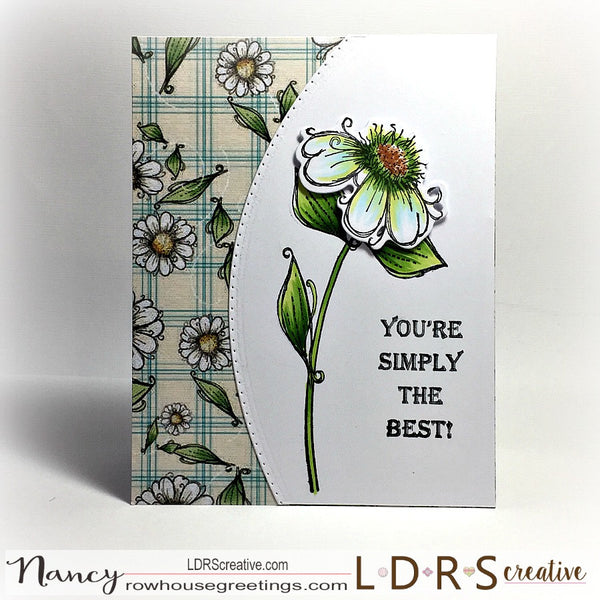 Daisy Daisy Stamp and Die Set by Polkadoodles