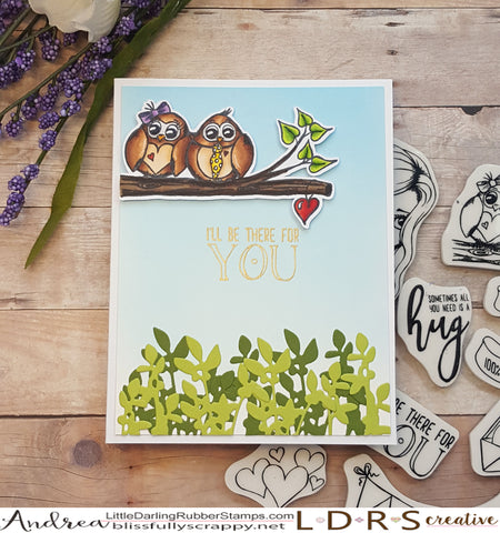 Card by Andrea Shell | Huggable Stamp set by LDRS Creative