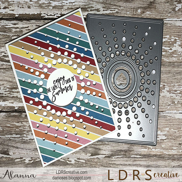 Sunburst Rectangle Die Set