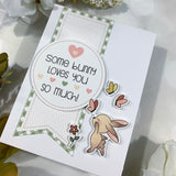 Bunny Fun Cards - Die-Cut Card Kit