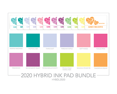 2020 NEW 12 Color Hybrid Ink Bundle