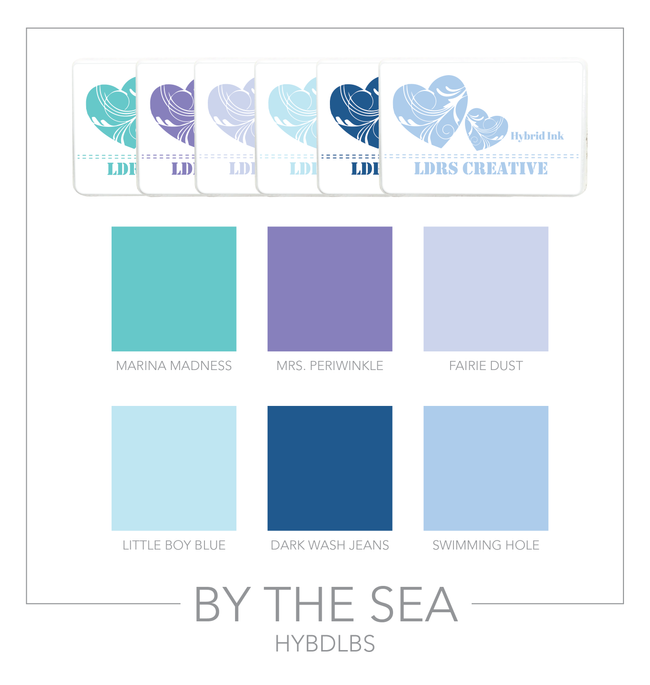 By The Sea 6-Color Bundle