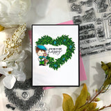Heart Wreath Stamps