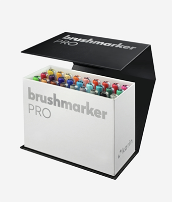 Karin BrushmarkerPRO | 11 Basic colours + blender