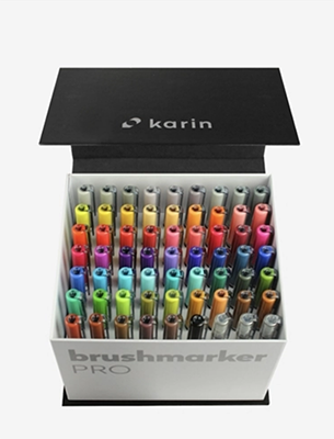 Karin BrushmarkerPRO | MegaBox 60 colours + 3 blenders