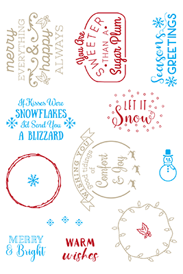 Snowflakes & Blizzards
