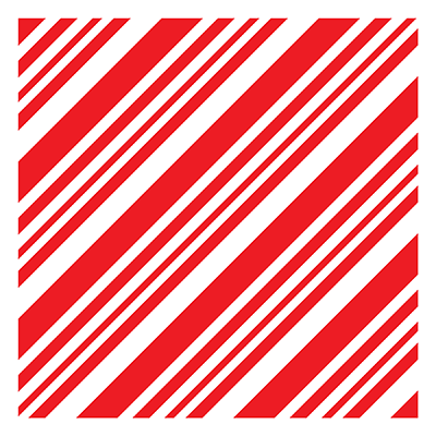 Peppermint Stick - 6x6 Stencil