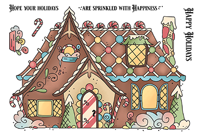 Gingerbread House - Pocket Pals