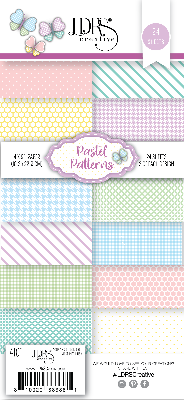Pastel Patterns 4x9 Paper Pack SL