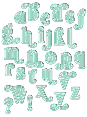 Sophie Alpha Lowercase Die Set