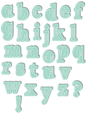 Chloe Alpha Lowercase Die Set