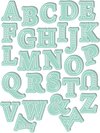 Chloe Alpha Uppercase Die Set