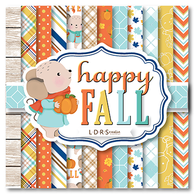 Happy Fall - 6x6 Paper