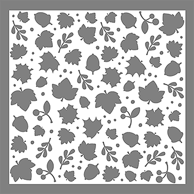 Leaves - 6x6 Stencil - Wholesale