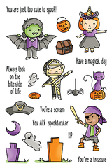 Halloween High Jinks stamp set